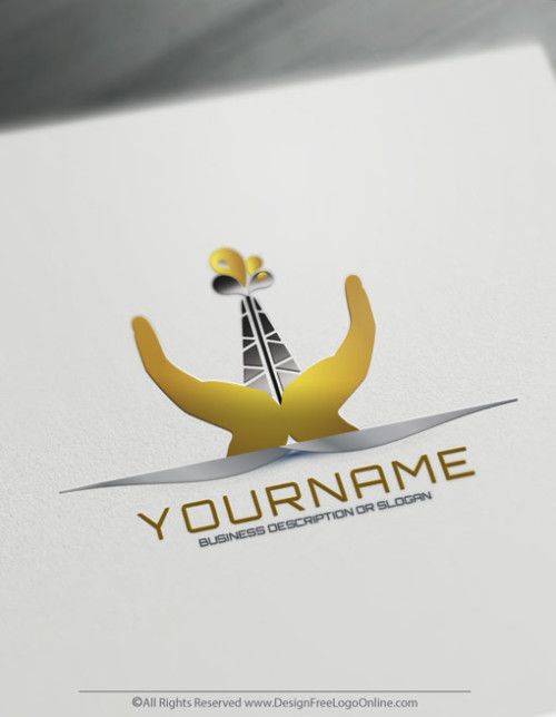 Select a free logo design template and create Industrial oil logo online