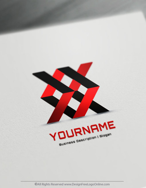 Create Your Own Geometric Logo Design - Free 3D Logo Maker