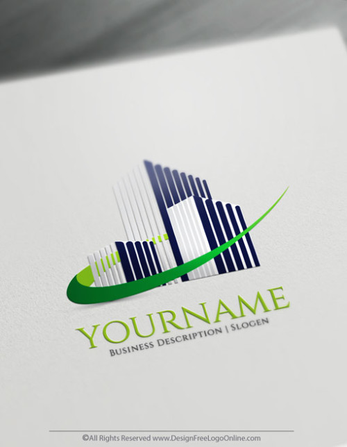 Design Your Buildings logo ideas with Free Real Estate Logo Maker