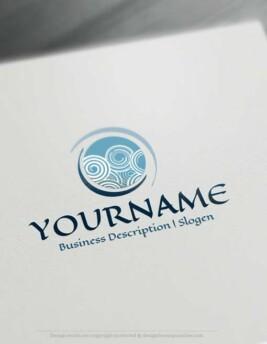 Create-a-Logo-Free-Abstract-Spiral-Logo-Templates