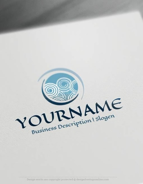 Create-a-Logo-Free-Abstract-Spiral-Logo-Templates