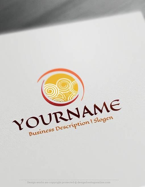 Create-a-Logo-Free---Abstract-Spiral-Logo-Templates