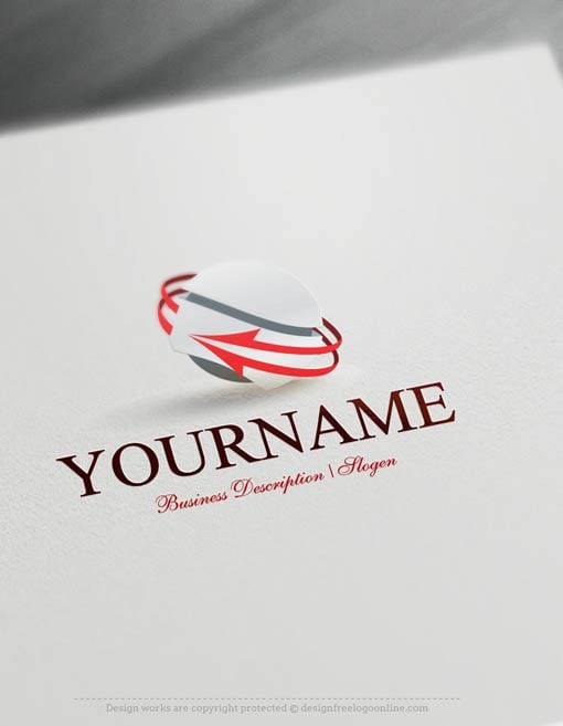 Create-a-Logo-Free---Arrow-3D-Logo-Templates