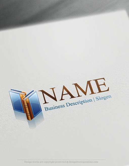 Create-a-Logo-Free---Books-Logo-Templates