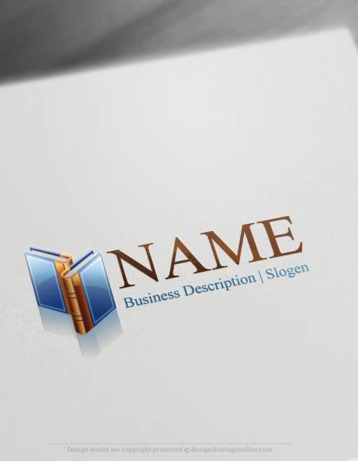 Create-a-Logo-Free---Books-Logo-Templates