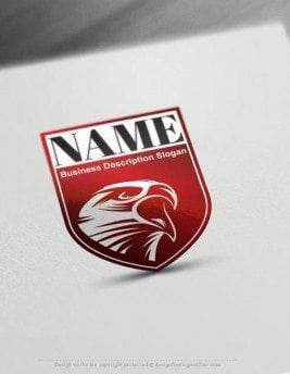Create-a-Logo-Free-Eagle-Shield-Logo-Templates