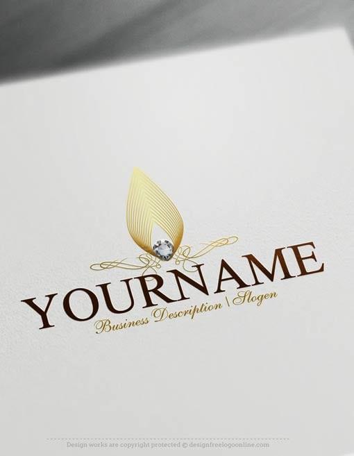 create a logo free online jewelry logo templates