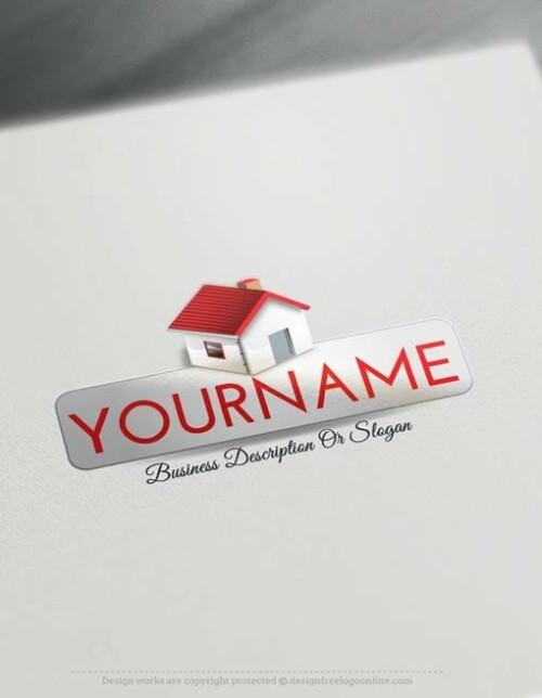 Create-a-Logo-Free--Real-Estate-House-logo-templates