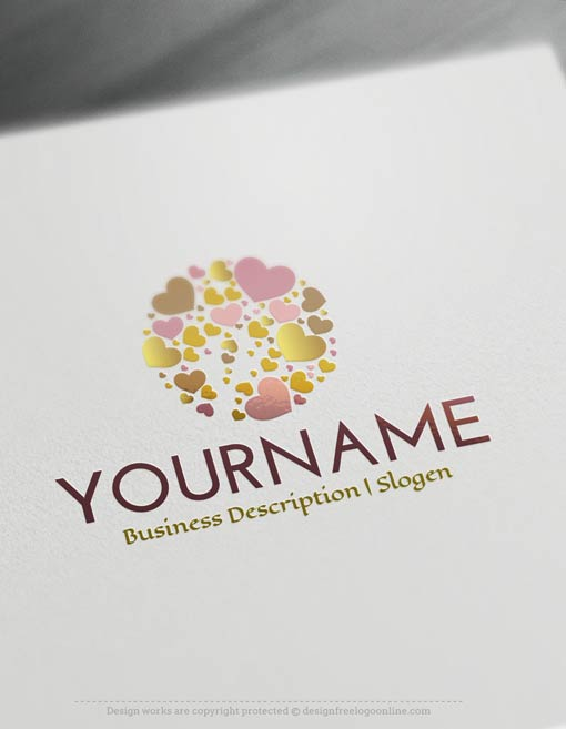 Design-Free-Hearts-Logo-Template
