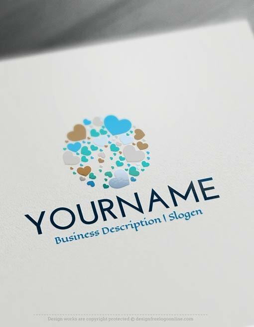 design free logo dental tooth logo template