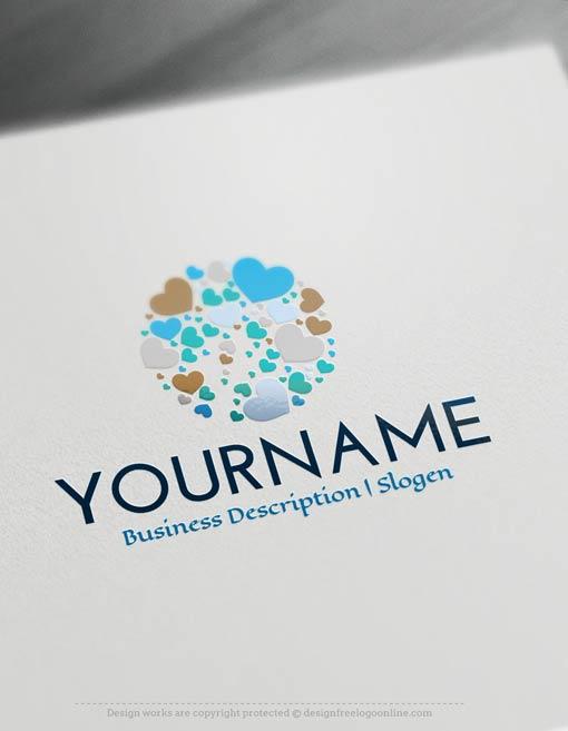 Design-Free-Hearts-Logo-Templates