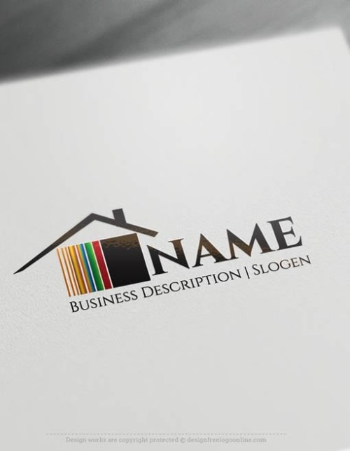 Free-logo-maker---House-Logo-Templates