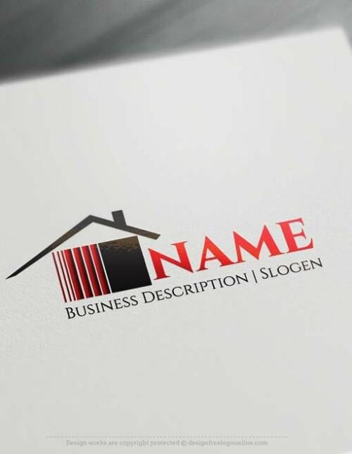 Free-logo-maker--House-Logo-Templates