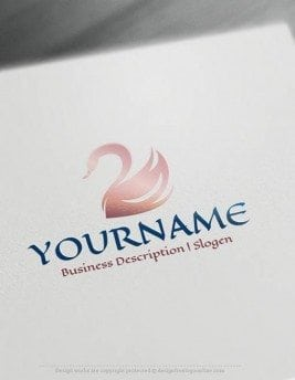 Free-logo-maker---swan-Logo-Templates