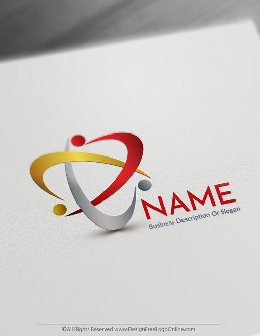 Luxury Group of people Logo Templates