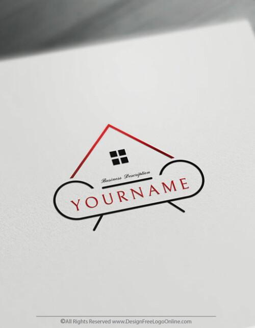 interior design logo branding