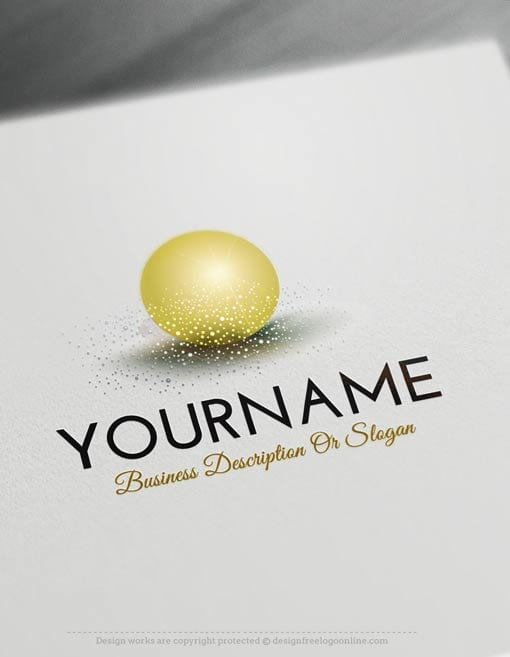 Create a Logo Free - Ready made Online Glamours 3D Ball Logo Templates. Create a Logo design with our free logo maker software.