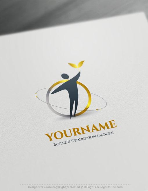 elegant finance logo maker