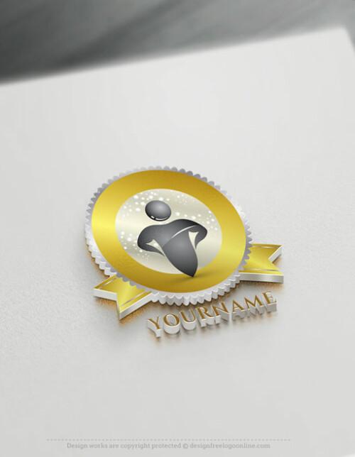 Create a Label Logo Free - Clean Logo Templates