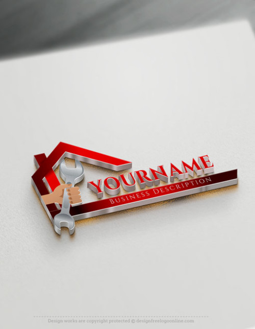 Customize your own DIY Handyman logo with the free Logo Maker online.