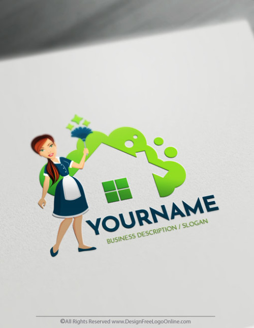 Create as many free Cleaning logo design ideas as you want free