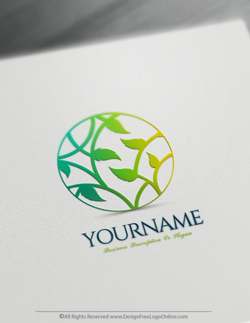 create your own tree logo by using the best logo maker