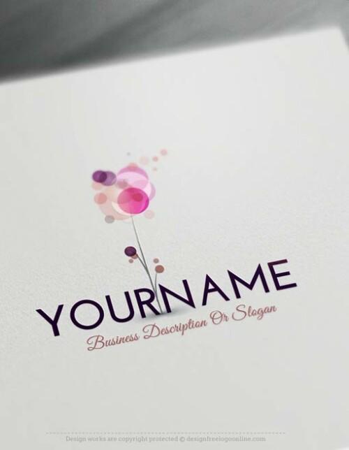 logo-flower-Design-Free-Logomaker