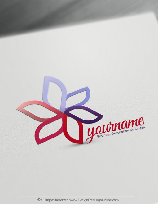 Design Your Own Silver Flower logo ideas with Free Logo Maker Online.