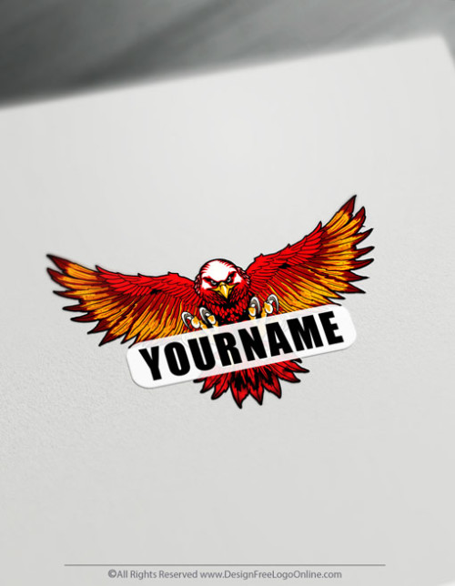 Create your own eagle logo ideas with the online logo maker