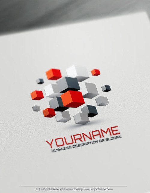 Create Your Own 3D Cube Logo Ideas with the best 3D logo maker