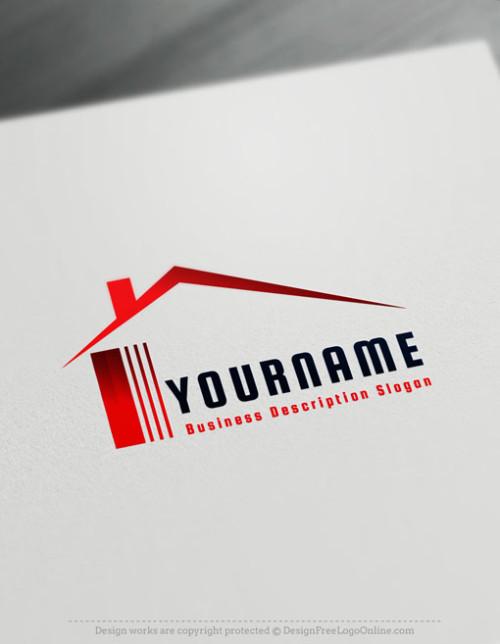 Create a Real-Estate Logo Free - Simple House Logo Templates
