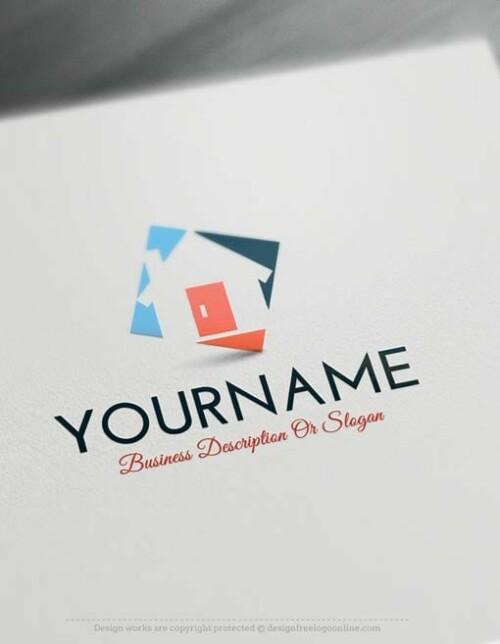 00332-Free-logo-maker--house-Logo-Templates
