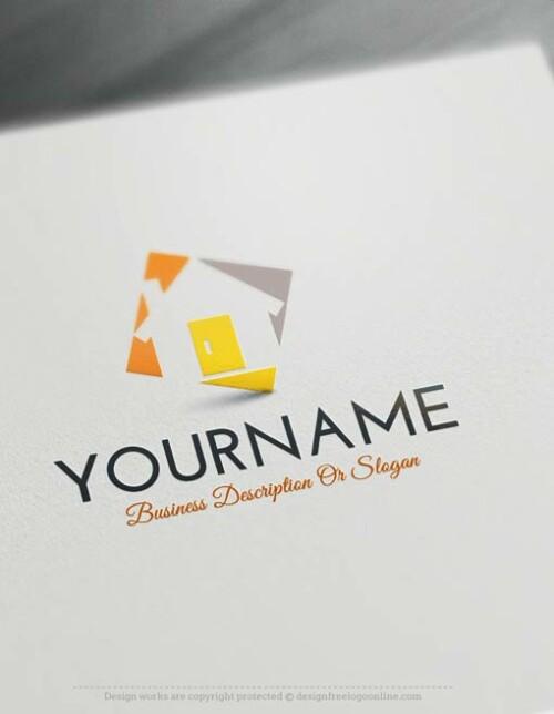 00332-Free-logo-maker---house-Logo-Templates