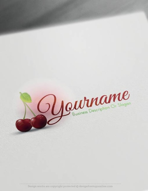 00346-Free-logomaker-Cherry-Logo-Templates