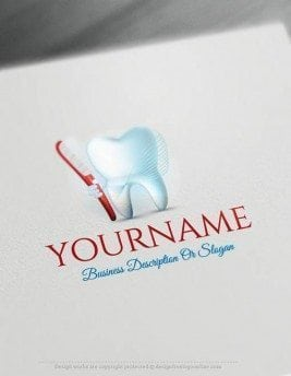 00347-Free-logomaker-dental-Logo-Templates