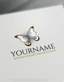00349-Free-logomaker-butterfly-Logo-Templates