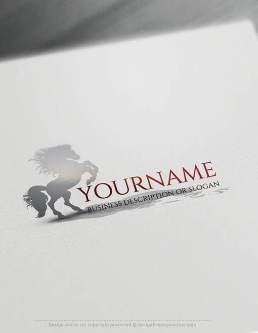 00353-Free-logomaker-Horse-Logo-Templates