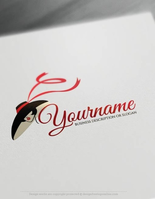 Woman face Logo Templates