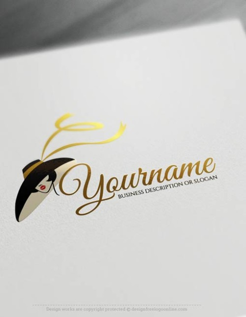 00357-Free-logomaker-woman-face-Logo-Templates