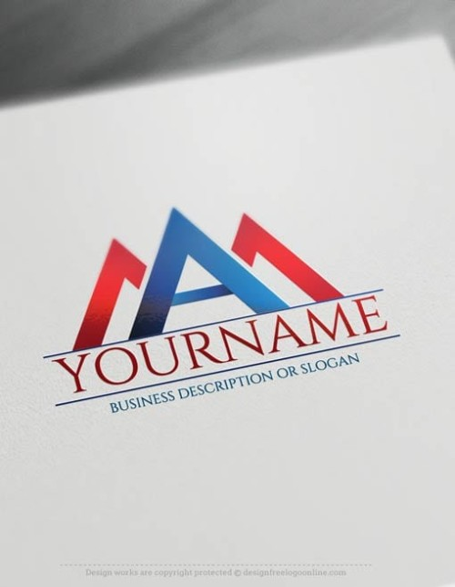 design your A Initials logo with the best online logo Creator