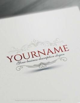 Online Create a Logo Free - Frame Logo Templates