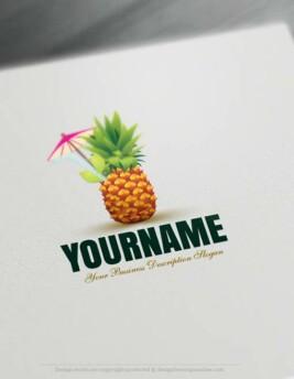 00367-Free-Logo-Maker-Pineapple-Logo-Templates00367-Free-Logo-Maker-Pineapple-Logo-Templates