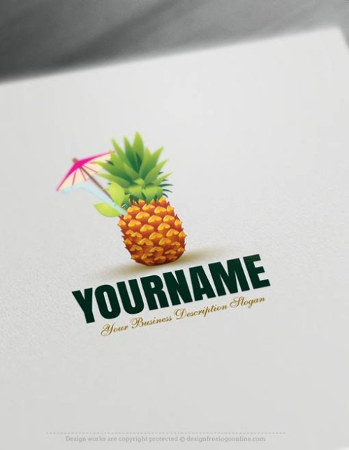 00367-Free-Logo-Maker-Pineapple-Logo-Templates00367-Free-Logo-Maker-Pineapple-Logo-Templates