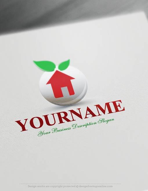 00368-Free-LogoMaker-green-house-Logo-Templates