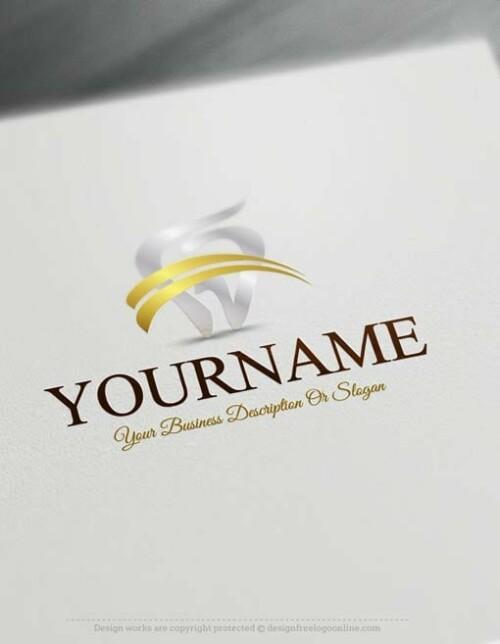 00376-Free-Logo-Maker-dental-Logo-Templates