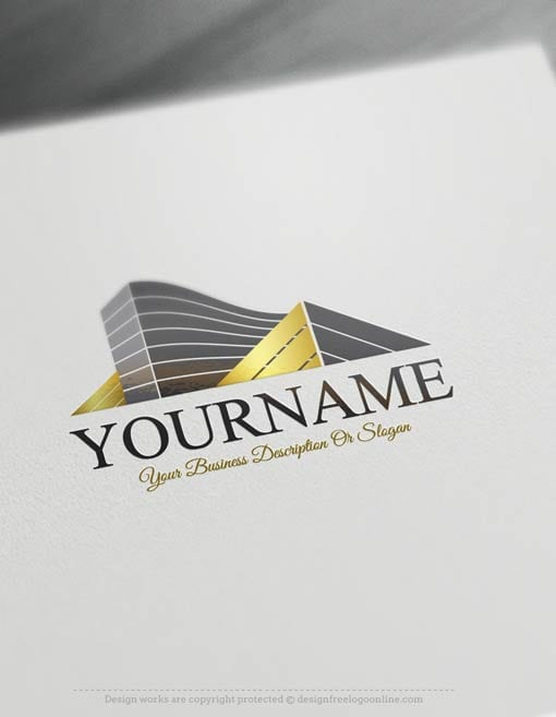 Design your own logo ideas with Real Estate Logo Maker.