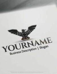 Black Eagle Logo Design