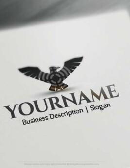 Create a Logo Free - Eagle Target Logo Templates