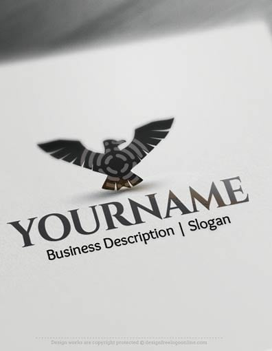 Black Eagle Logo Design