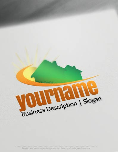 00674-Home-and-Sun-design-free-logos-online2